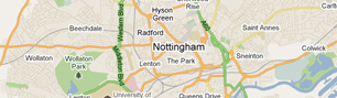 Map of Notts