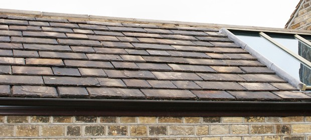 Traditional Yorkshire stone roofing